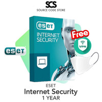 ESET Internet Security 1-5 Devices 1 YEAR | Original Antivirus