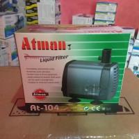 Aquarium liquit filter ATMAN AT-104 AT104 pompa celup water pump
