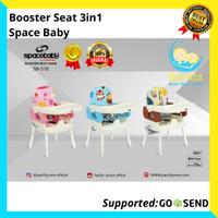 Booster seat 3 in 1 Space Baby kursi makan spacebaby