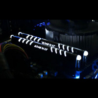 Memory Ram Avexir Ddr3 4gb Pc 12800 1600mhz Core Rgb Led White Putih
