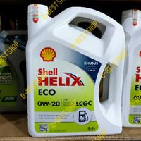 Paket Oli Shell Helix Eco 0W-20 Agya/ Ayla/ Sigra/ Calya