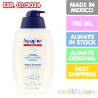 AQUAPHOR CLEANSING BABY WASH & SHAMPOO CHAMOMILE 750 ML