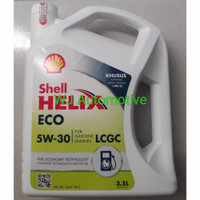 Shell Helix ECO 5W-30 3.5Liter/Oli Mobil LCGC 3.5L/Oli mesin LCGC