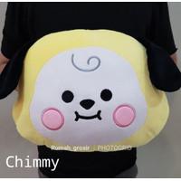 Bantal Boneka babyface BTS BT21 Kpop Cute - Kuning
