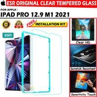 iPad Pro 12.9 2021 M1 Chip 5th Gen ESR Tempered Glass Antigores Bening