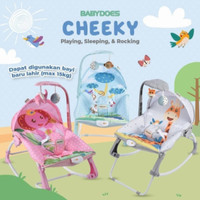 Bouncer Swing Rocker Babydoes Cheeky 3Phases/Bouncer Bayi