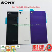 Tutup Casing Belakang Sony Z1 Backdoor Backcover Z1 Big Adhesive OEM