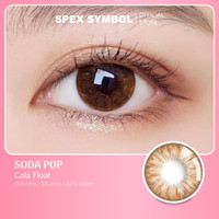 Spex Symbol Soda Pop Softlens (Cola Float) New Private Collection - 0.00