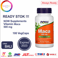 Now Foods, Maca, 500 mg, 100 Veg Capsules