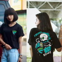 Kaos T-Shirt FRIDAY KILLER kualitas Distro 013