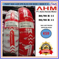 Paket Ban Tubeless Depan /Belakang Vario /Beat Honda AHM FRE PENTIL