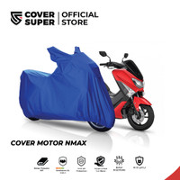 Cover Motor Ukuran NMAX Biru Tua - CoverSuper