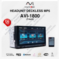 AVI Head Unit Deckless Double Din Universal Mobil Mirrorlink Android