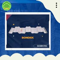 BONDEK COR CILEGON STEEL 0,75 UK 1 METER X 5 METER