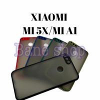 SOFTCASE XIAOMI MI5X/MI A1 - HARDCASE DOVE MYCHOICE + PC - AERO CASE