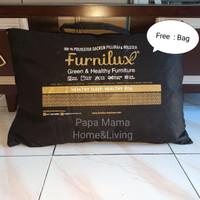 Bantal Furnilux Springbed 100% original Dakron - Bantal Guling Tidur