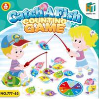 Mainan Anak Catch A Fish Counting Game Board Game Belajar Berhitung