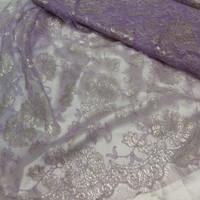 kain-bahan brokat/brukat lace Prancis original 100% asli
