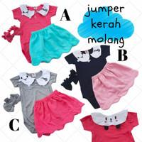Queen Cloud Jumper / Jumper Bayi Perempuan / Baju Bayi Cewe Lucu Murah