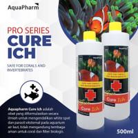 Aquapharm Cure Ich 500ml Obat White Spot WS Velvet Parasite Reef Safe