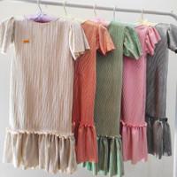 baju anak perempuan premium warna gold merk poetri kamil AHA