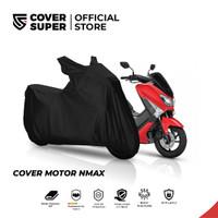 Cover Motor Ukuran NMAX Hitam - CoverSuper