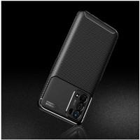 Case Oppo A74 5G Premium Autofocus Carbon Slim Casing Cover - Hitam