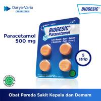 Biogesic Tablet - 5 strip