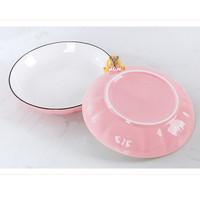 Labu Piring 20cm keramik Korean style Pumpkin Plate 8in