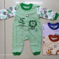 Baju jumper bayi buka kaki/Over all bayi panjang/SNI/