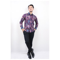 Baju Batik Pria Jean Marcel Abstrak Motif ORI - M