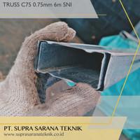SNI BAJA RINGAN TRUSS C75 0.75 mm SNI Full CNP Kanal C Galvalum