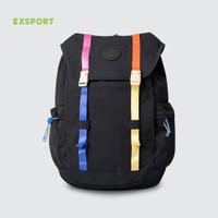 Tas Laptop Exsport Scholar Laptop Backpack | - Hitam L
