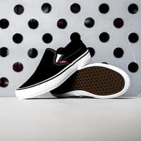 Vans Slip On Pro Black White POPCUSH Original