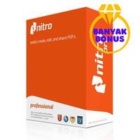 Nitro PDF 13.4 Full Version 32 dan 64 Bit Aplikasi Edit + Convert PDF
