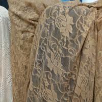 kain-bahan brukat stretch/brokat lace