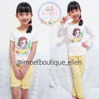 Piyama / baju rumah anak cewek princess snow white (PI0215)