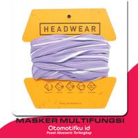 Masker Motor Multifungsi Balaclava Headwear Terry Palmer Putih - Pink