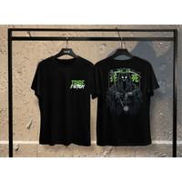T-shirt Shinigami Hijau / Kaos Distro Atasan Pria / Kaos Pria / Wanita