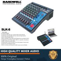 Mixer Audio Hardwell SLK 8 8 Channel ORIGINAL Garansi 1 Tahun