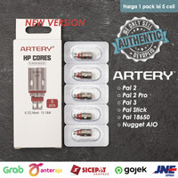 Artery Pal 2 Pro Nugget AIO HP CORES 0.7 ohm Mesh Coil Authentic