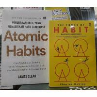2 paket atomic habits dan the power of habit