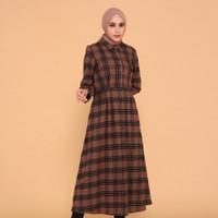 Benhill Gamis Kotak Flannel Warna Coklat 0664-27609 - S