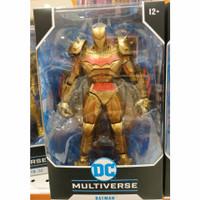 sale mainan: DC Multiverse McFarlane Batman Gold Figure