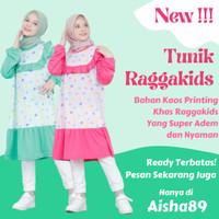 Baju Tunik Anak Perempuan 1 - 13 Tahun Raggakids/Atasan Anak/Kaos Anak