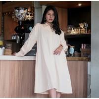 Kimi Indonesia - Yoona Shirt Dress Banana