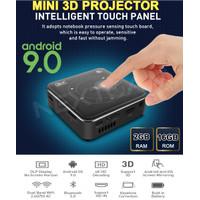 MINI DLP PROJECTOR ANDROID 9/PROYEKTOR 9550 WIFI BT 4.2 RAM 2/16GB