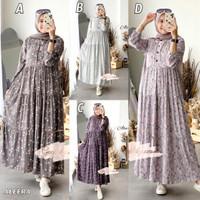 Gamis Aleera Dress By Gagil By.Ova/baju muslim dewasa/gamis wanita