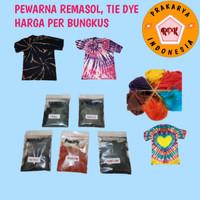 Pewarna batik Remasol, batik jumputan, tie dye untuk baju dan kain