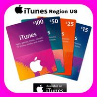 Apple itunes gift usd 10 50 100 US Code Redeem